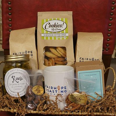 They have some really cool gift basket ideas!
