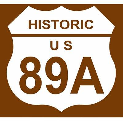 Arizona-Historic US Route 89A