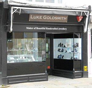 Luke Goldsmith shop, Canterbury