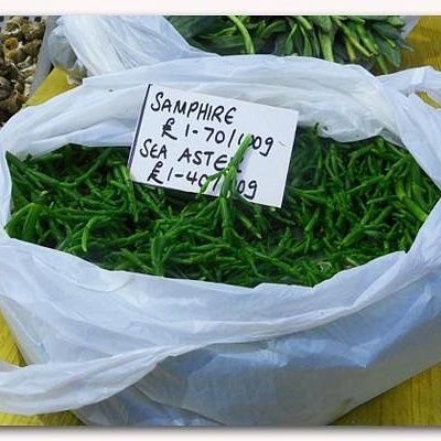..even samphire!