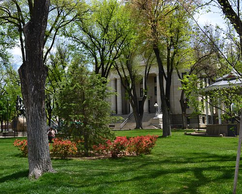 Yavapai County Courthouse at 120 S. Cortez in downtown Prescott