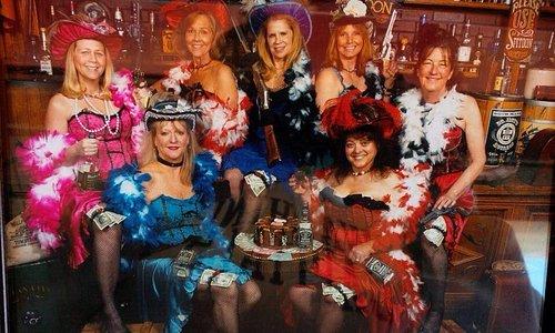 The Delta Gamma ladies of the night!