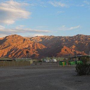 夕日に映えたdeath Valley