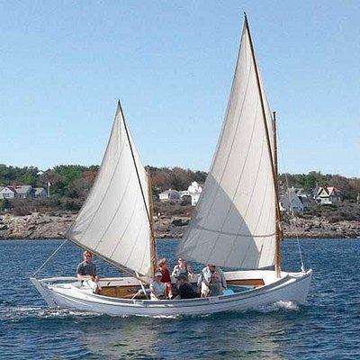 Sailing along the coast of Ogunquit
