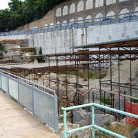 l'antico porto romano dalla passerella