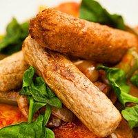 Vegetable sausage