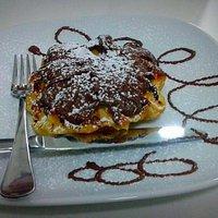 Wafel con nutella: delizioso!