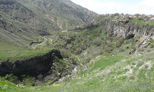 Garni Gorge: general view