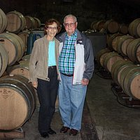 Touring the Bolen Winery cave