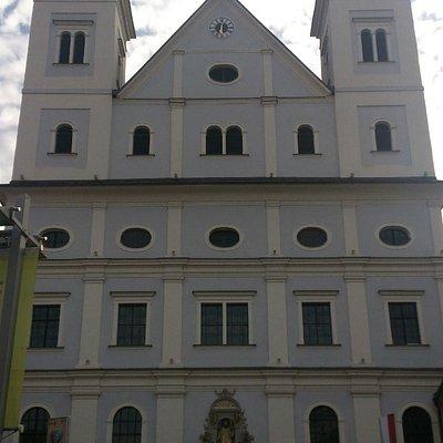 Frontansicht Sankt Xaver