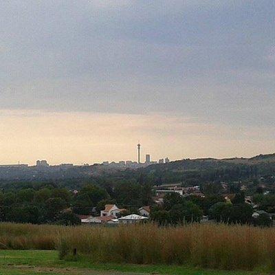 View of the Johannesburg skyline
