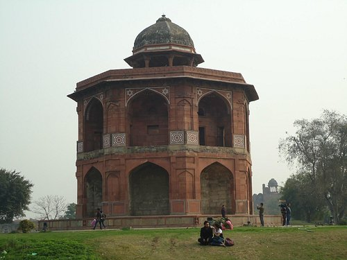 A majestic view of Sher Mandal.