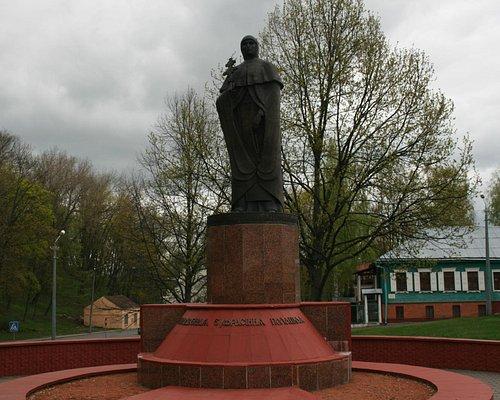 Памятник Ефросинии Полоцкой