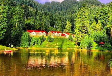 This is Beautiful Banjosa lake in Rawalkot Azad Kashmir. ...