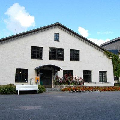 Suomen lasimuseon sisäänkäynti, Entrance to The Finnish Glass Museum