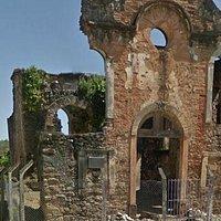 frente da ruína