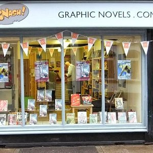 'Books are my Bag' independent bookshop day at Gnash Comics