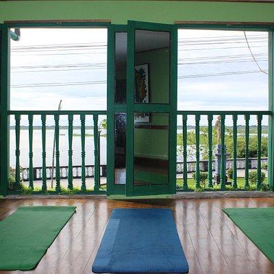 Yoga Studio in Green Go Organic Pharmacy
