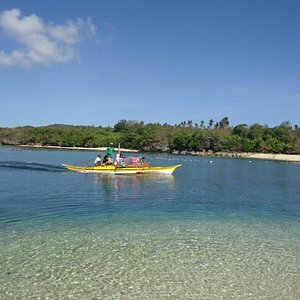 clean and clear waters of batbatan island