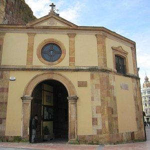 Imagen de la capilla de La Balesquida