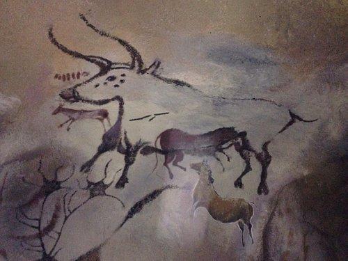 Dessin préhistorique... Fait par des artistes des temps modernes
