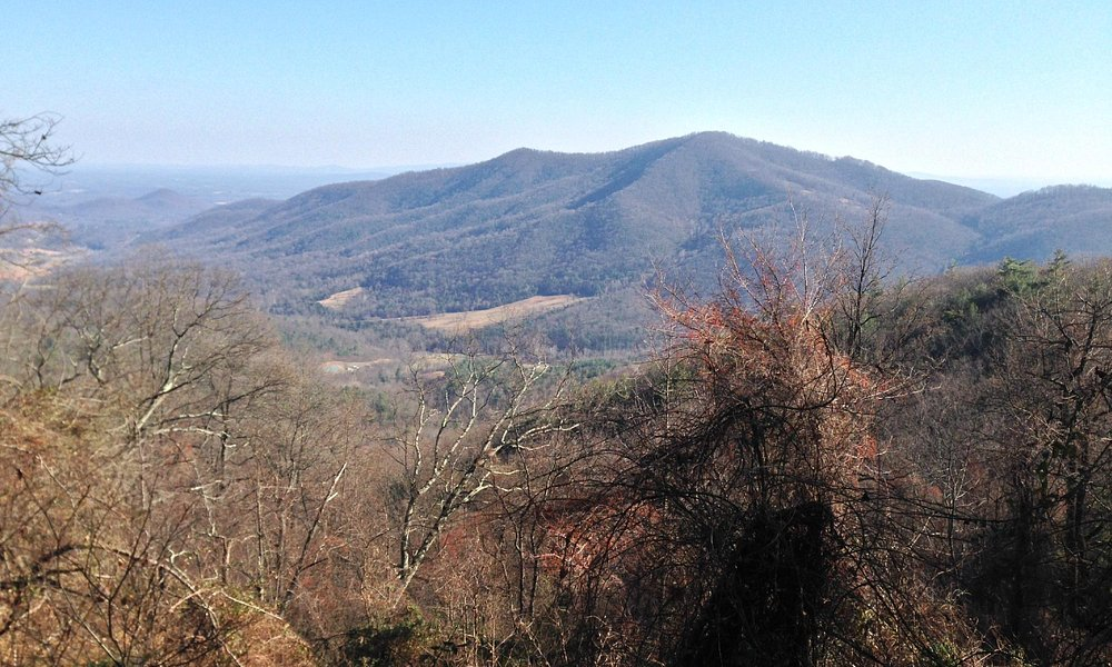 Gibson Mountain overlook (high point of trail)
