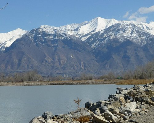 View of Y Mountain from jetties