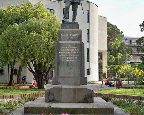 Monumento Bronzo di Carlo Pisacane
