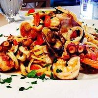 Spaghetti col Polipo.. Na squisitezza
