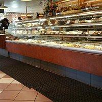 Gayle's interior, bakery, May 2015