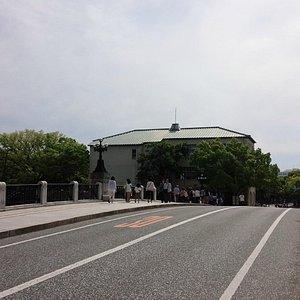 元安橋から撮影