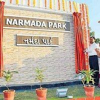 Gate of Narmada Garden