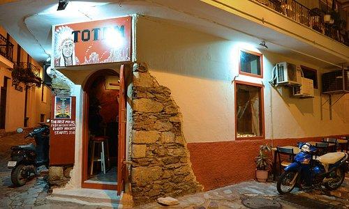 Totem Bar Skiathos, agusut 2014