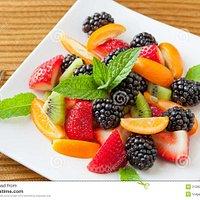Macedonie di frutta fresca di stagione