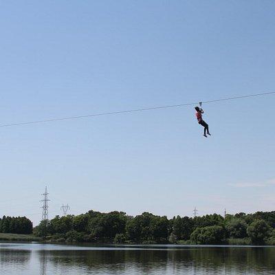 Extreme Park Cernica Zip Line