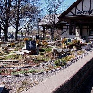 The garden railroad