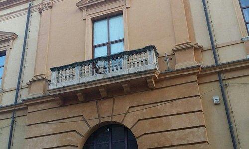 Prospetto principale in Corso Salvatore Aldisio