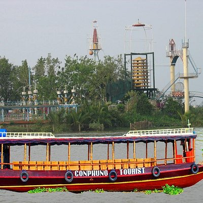du thuyền Cồn Phụng