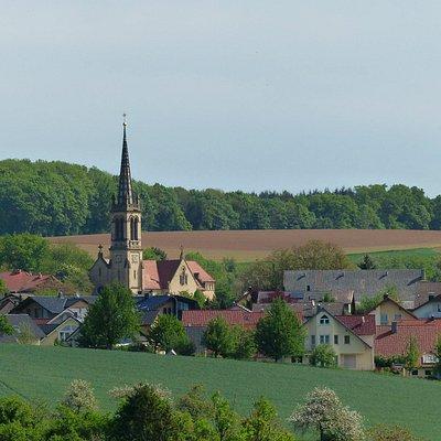 Heiligkreuz Pfarrkirche in Stein