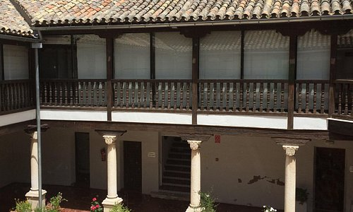 Courtyard typical of the region