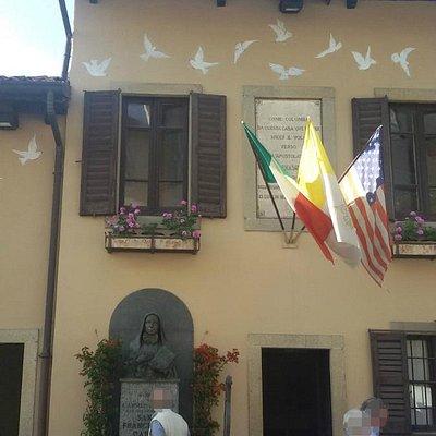 Ingresso Casa Natale di Santa Francesca Cabrini