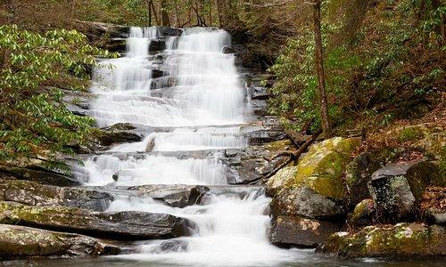 Emery Creek Falls - just around the corner from Mulberry Gap