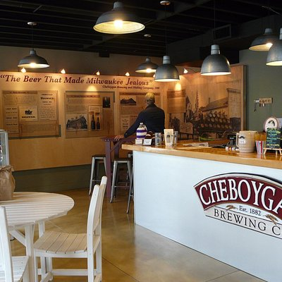 Great area dedicated to the history of breweries in Cheboygan. Very Interesting!