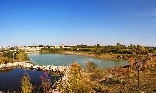 Lake in the area of Hotel*** Plauter Kúria