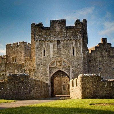 Entrance to St Donat's Castle