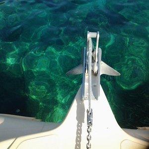 Corfu boat hire Dassia beach