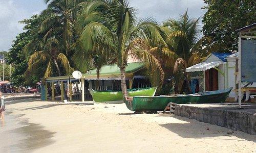 La plage du club