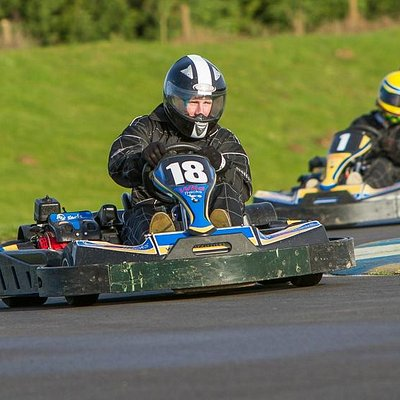 Karting fun at WildTracks
