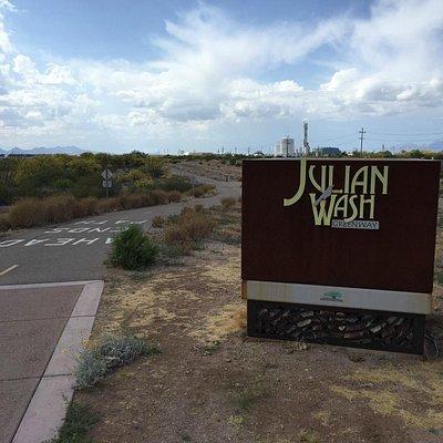 Julian Wash east entrance