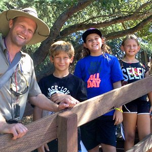 Ranger Ted and junior naturalists